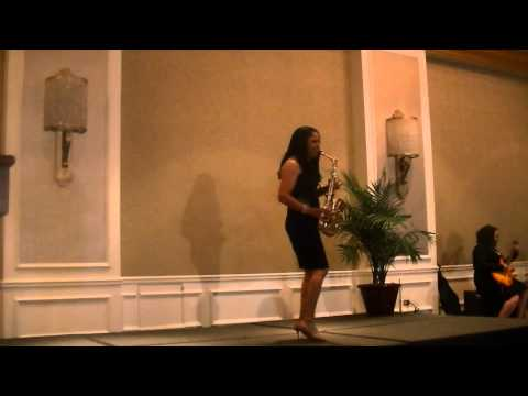 Joyce Spencer Performs at The 2014 Black Women in Jazz & Fine Arts Awards