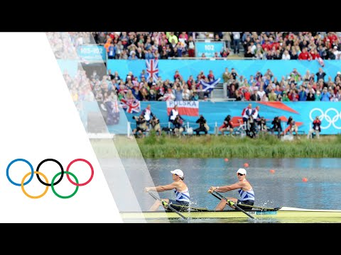 Women's Double Sculls Rowing Final Replay - London 2012 Olympics