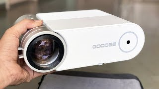 GOODEE G500 LED HD Projector -…