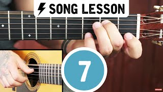 Beginner Fingerstyle Guitar Lesson ➜ Learn Freight Train!