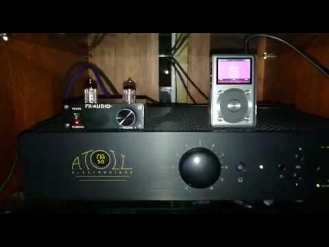 FX Audio Tube 01 y Atoll 50 SE