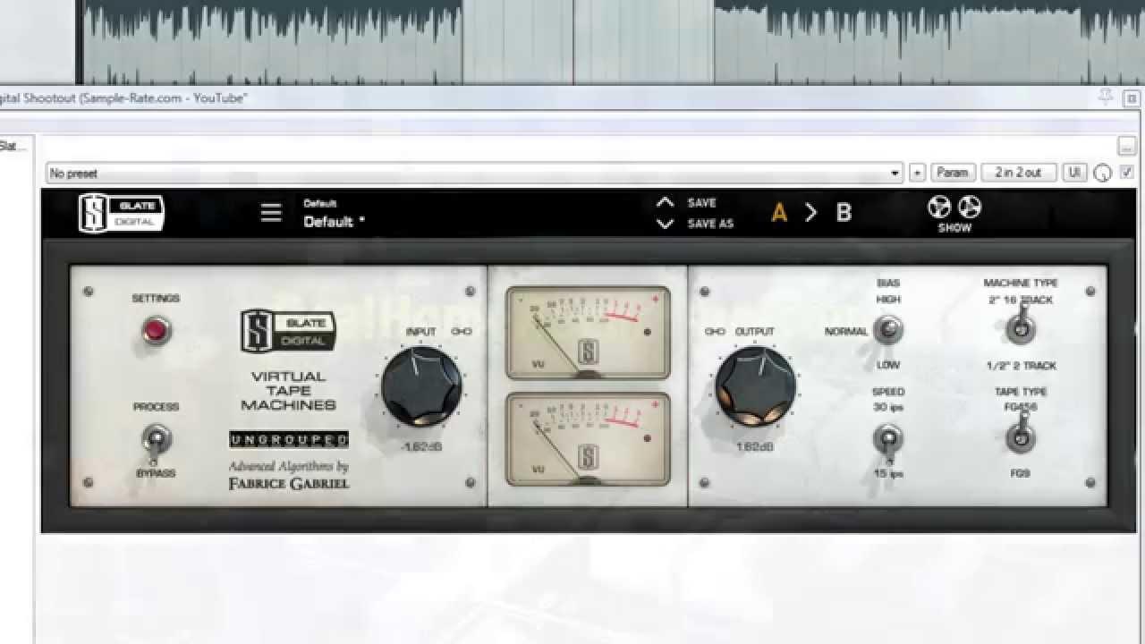 Slate digital virtual tape machines – thomann elláda.