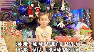 VLOG CHRISTMAS DIRUMAH MERTUA | MADDY DI MANJA | NATAL TRADISI KELUARGA SUAMI | BANTU MERTUA MASAK