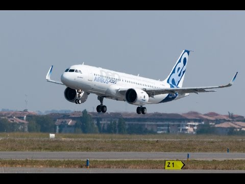 Airbus pilot enjoy with A320 NEO Touch&Go @ Toulouse Ai