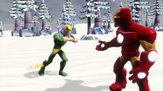 Disney Infinity (2.0 Edition) – IN Moments – Iron Man and Iron Fist