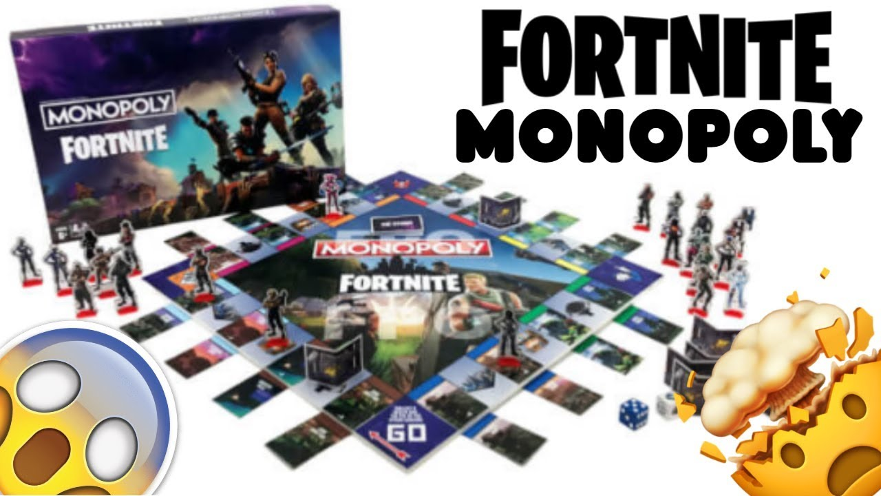new fortnite monopoly board game - rules for fortnite monopoly