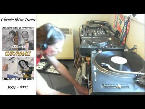 Old skool Ibiza vinyl dj mix