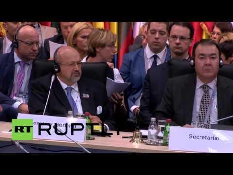 Serbia: OSCE Ministerial Council meeting kicks off in Belgrade