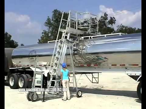 Ttx Portable Truck And Rail Car Access Platform Youtube