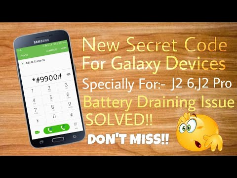 Battery Draining Issue Solved On Samsung Devices By Only A Secret Code😱