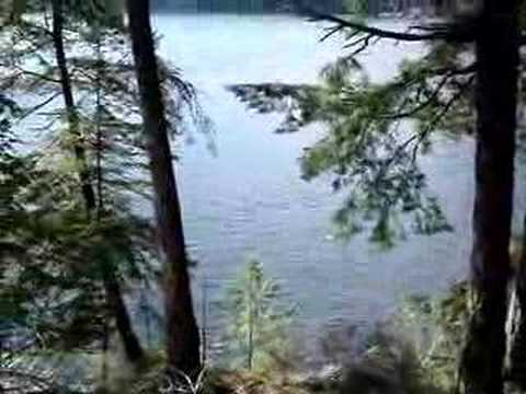 Gambier Island - Vancouver BC - West Bay - Cliff