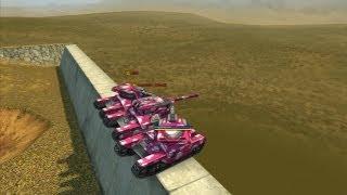 ВАСПЫ-попрыгунчики на 'Бойне' :)) Танки онлайн игра / Tanki Online - Wasp jumping / tank games