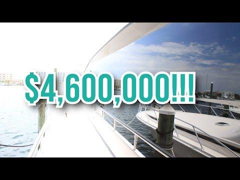 $4.6 MILLION DOLLAR YACHT TOUR!
