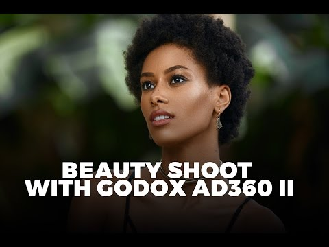 Outdoor and Studio Beauty Shoot with Godox AD360 II || Canon
