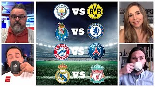 SORTEO CHAMPIONS LEAGUE Así quedaron Real Madrid, Bayern Munich, Manchester City y PSG | Exclusivos