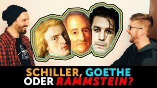 Schiller, Goethe oder RAMMSTEIN?  Wessen line?