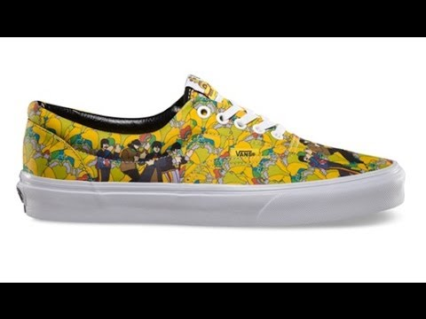0e8687f5d9 Shoe Review  Vans x The Beatles  Yellow Submarine  Era (Garden True ...