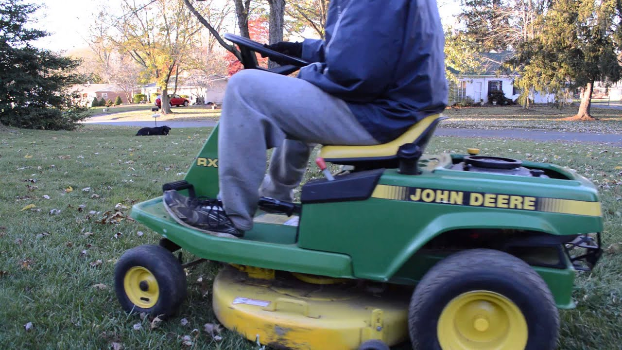 Equipment Review John Deere Rx75 With Demonstration