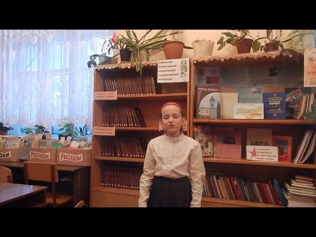 Изображение предпросмотра прочтения – ОлесяСергеева читает произведение «Слон и Моська» И.А.Крылова