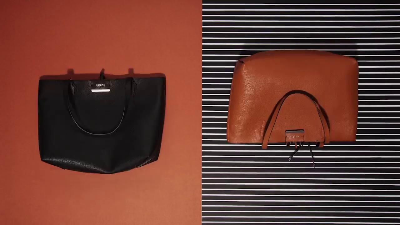 40de8ad2c450 GUESS EU Handbag Collection  The Bobbi Reversible - YouTube