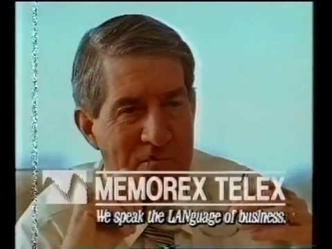 Memorex Telex — TV Ad about information technology business — Australia — 1990s