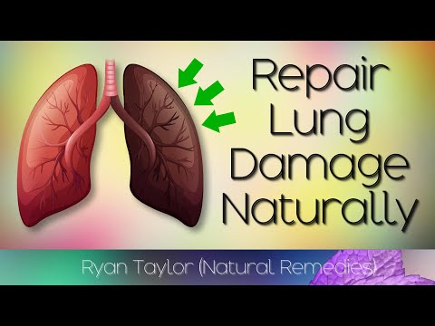 How To Repair Lung Damage (Natural Remedies)