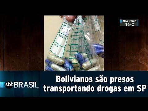 Bolivianos são presos transportando drogas em São Paulo | SBT Brasil (13/09/18)