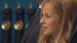 La Princesa de Asturias brilla en su debut en los Premios