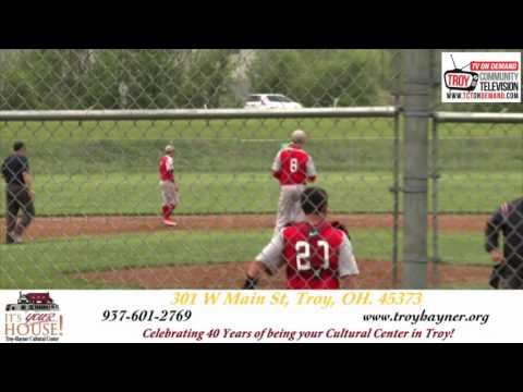 Troy Christian High School Sports: Troy Christian VS Cedarville Baseball (05/09/16)
