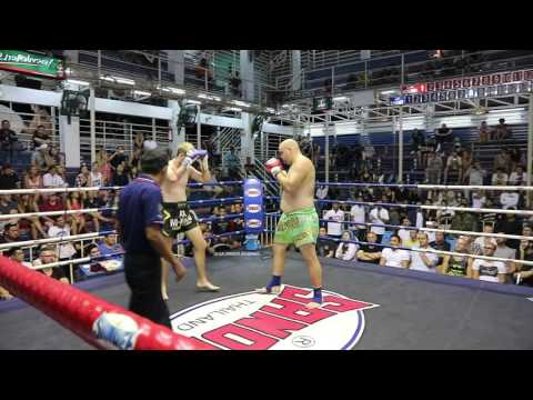 Steve Panda Banks PhuketTopTeam vs Liam McKendry SutaiMT - Heavyweight Championship 2 Dec 2016