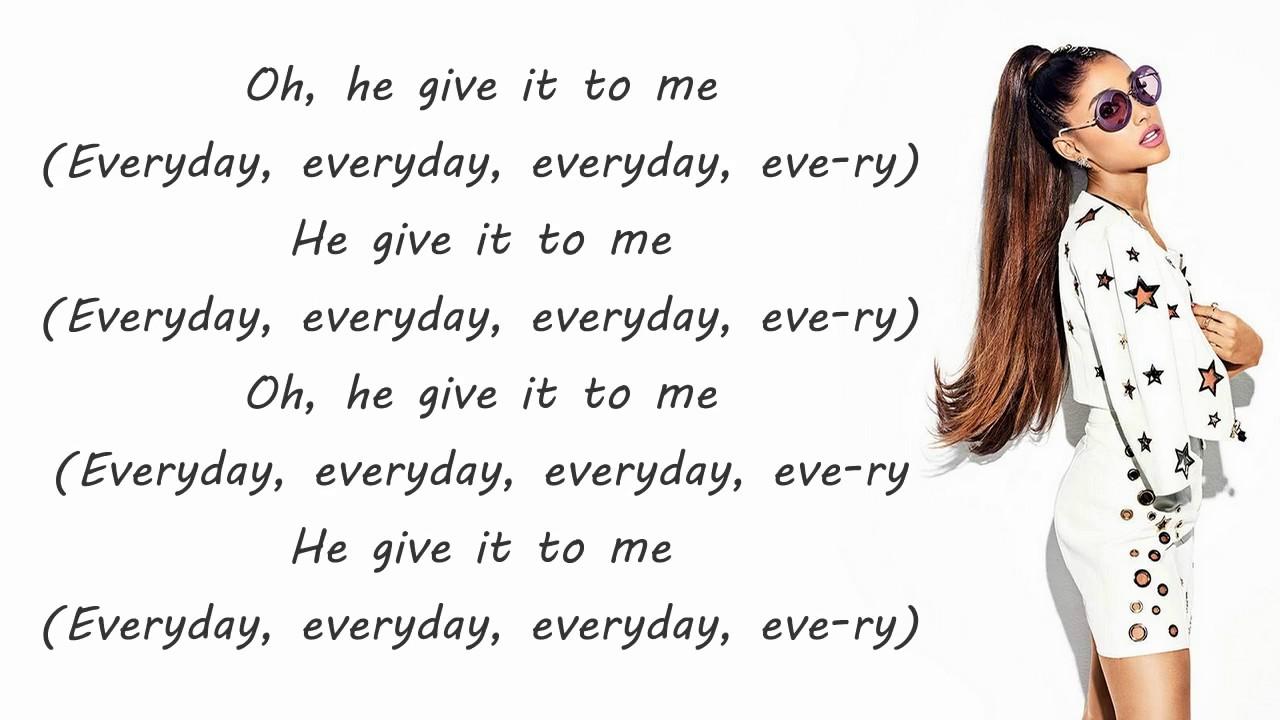 Ariana Grande Everyday Lyrics Ft Future
