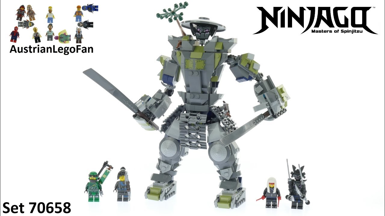 Lego Ninjago 70658 Oni Titan Lego Speed Build Review Youtube