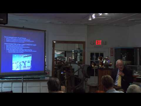 January 14, 2014 History Lecture: Lessons Learned from the Exxon Valdez with Tom Gillette