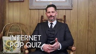 Internet Pop Quiz with Joe Manganiello