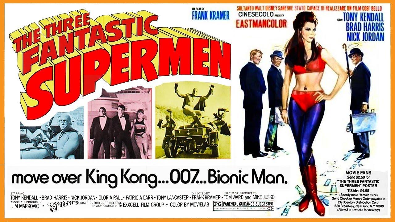 The Three Fantastic Supermen--Full Movie