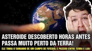 Asteroide Inesperado do Tamanho de Campo de Futebol Passou Muito Perto da Terra 809 - N A