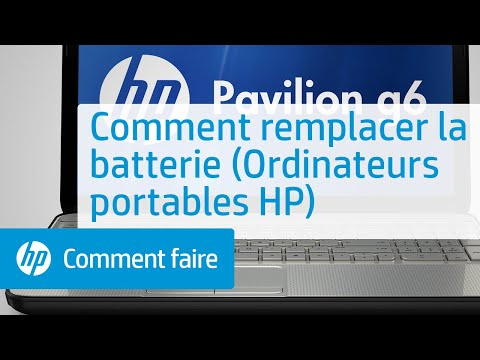 comment remplacer la batterie ordinateurs portables hp youtube. Black Bedroom Furniture Sets. Home Design Ideas