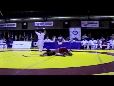 2000 Senior Nationals Championships: 76 kg Rob Betz vs. Jeremy Cruise