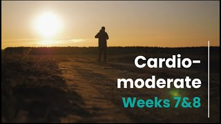 Cardio Moderate - Week 7/8 (mH)