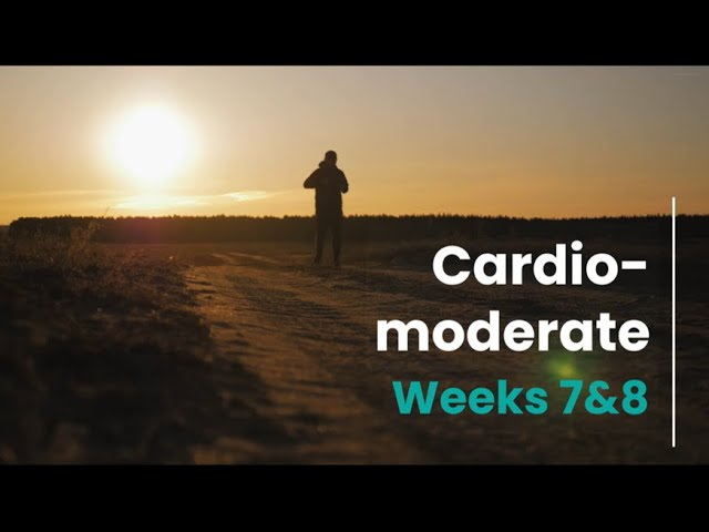 Cardio-Moderate - Week 7&8 (mHealth)