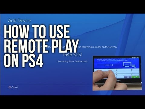 How to set up Remote Play on the Vita and the PS4