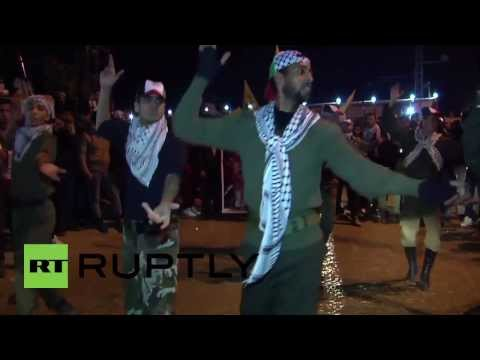 State of Palestine: Gaza hail arrival of released prisoners