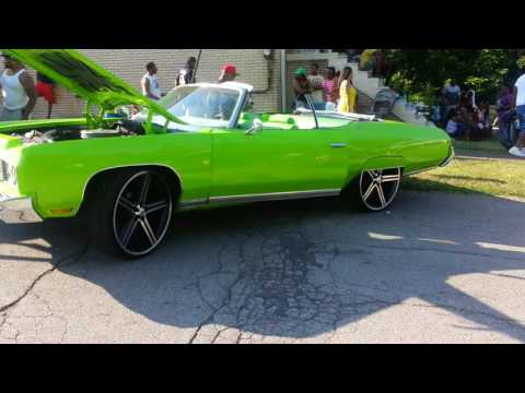 1973 Chevy Caprice Classic Convertible on 24's