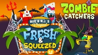 Охотники на зомби #5 Игра про зомби и пришельцев. Zombie catchers Halloween