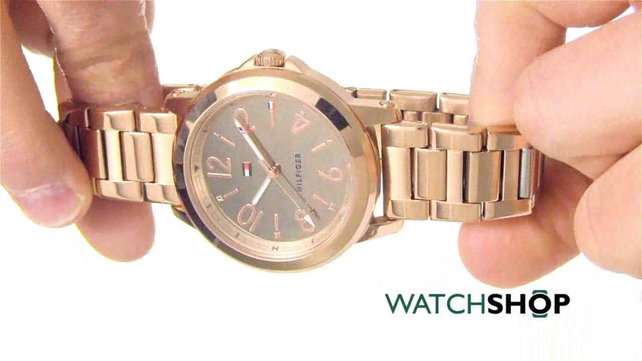 Tommy Hilfiger Ladies  Watch (1781752) - YouTube a2d90bbf16a