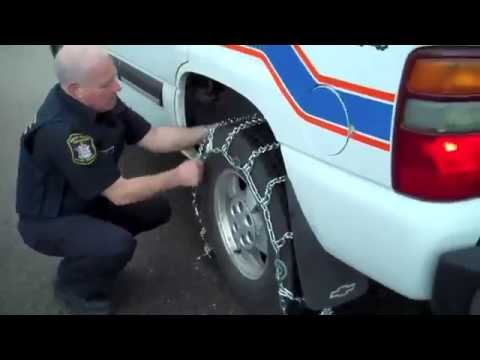Safety First: 8 Steps to Installing Winter Tire Chains