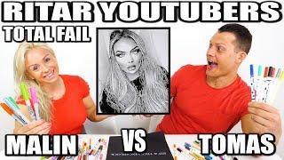 RITAR YOUTUBERS *TOTAL FAIL TOMAS VS MALIN*
