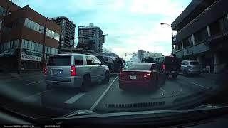 Vancouver police swarm stolen vehicle during arrest