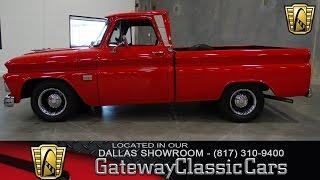 1966 Chevrolet C10 #344-DFW Gateway Classic Cars of Dallas