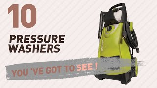Top 10 Pressure Washers // New & Popular 2017